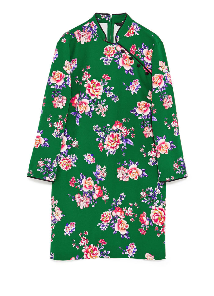 klänning-blommor-zara