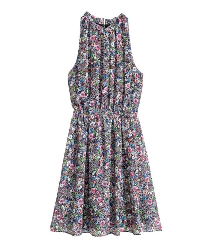 klänning-blommor-hm