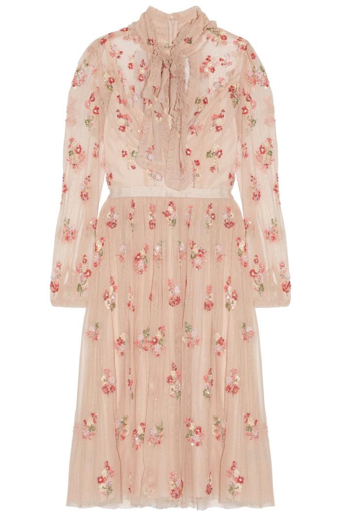 klänning-blommor-needle-thread